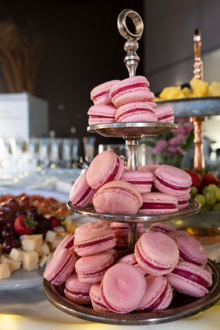 Custom Macaroons from Highgrove Estate photographed byFocus Light Productions